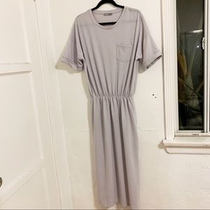 Zara Maxi Lilac Purple Comfortable Dress